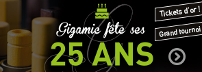 gigamic 25 ans