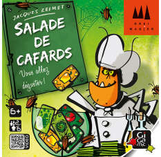 Salade de cafards Jeux star ! Gigamic
