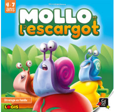 Mollo l'escargot facing