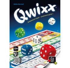 Qwixx Jeux d'ambiance Gigamic