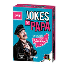 Jokes de Papa ! Version salée Jeux d'ambiance Gigamic