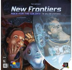 New Frontiers - Race for the Galaxy - facing boîte de jeu