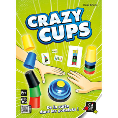 Crazy Cups Jeux star ! Gigamic