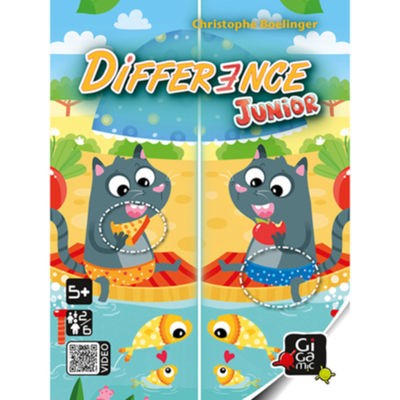 Difference Junior Jeux star ! Gigamic