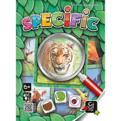 SPECIFIC Jeux junior & famille Gigamic