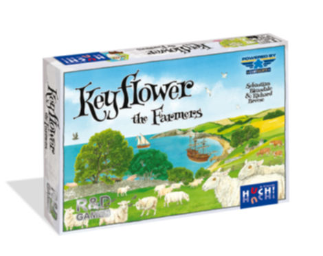 jeux de société Keyflower the farmers  Gigamic