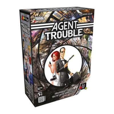 Agent Trouble Jeux de bluff Gigamic