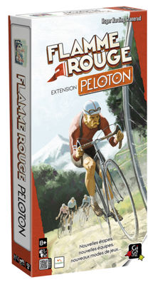 Boite de flamme rouge extension peloton