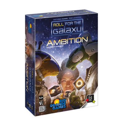 Jeux de réflexion Ambition - extension Roll for the Galaxy jeux de société Gigamic