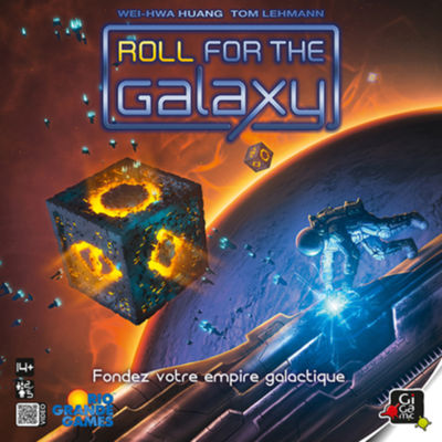 Roll for the Galaxy Jeux de réflexion Gigamic