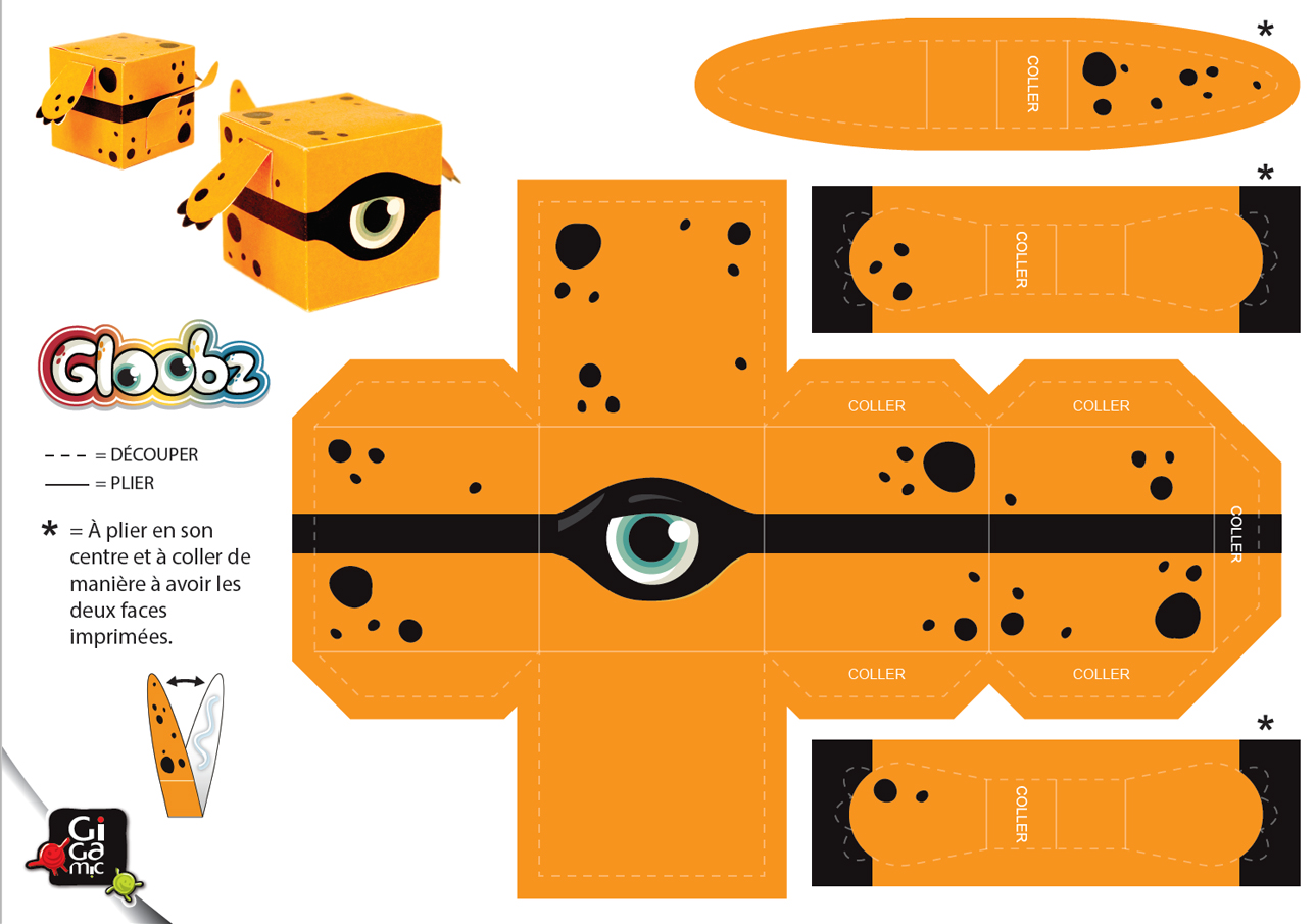 Gigamic Paper Toy Halloween