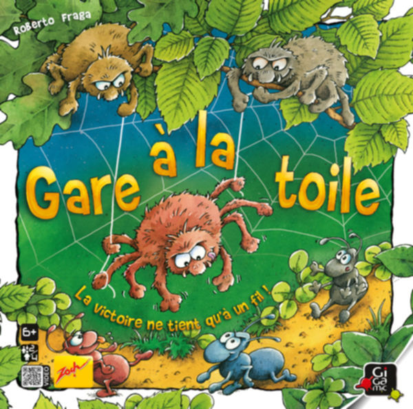 Gare à la toile : le spider game