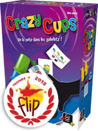 Crazy Cups craque son flip !