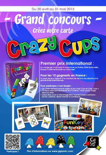 Grand concours Crazy Cups